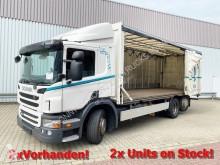 Camion Scania P280 DB 6x2-4 P280 DB 6x2-4 Getränkewagen, Lift-/Lenkachse, Stapleraufnahme, 4x Vorhanden! fourgon brasseur occasion