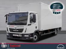 Camion MAN TGL 12.220 BL-KOFFER-AHK-LBW-3SITZER-KLIM furgone usato