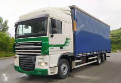 Camión tautliner (lonas correderas) DAF XF105 460