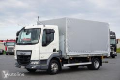 Ciężarówka platforma DAF LF / 230 / EURO 6 / SKRZYNIOWY + WINDA / 10 PALET / ŁAD. 6744 KG