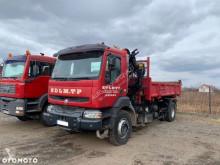 Ciężarówka wywrotka Renault Kerax 370 DCI HDS PALFINGER PK15500 // WYWROT NA BOK I TYŁ // HYDROBURTA // SUPER STAN //