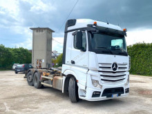 Camion Mercedes Actros 25.45 SCARRABILE BALESTRATO ANTERIORE E PNE polybenne occasion