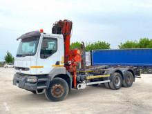 Camion polybenne Renault Kerax 330 SCARRABILE BALESTRATO ANTERIORE E POSTER