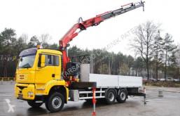 Camion plateau MAN TGA 26.430 6x6x4 FASSI 360XP Crane Kran Fly Jib