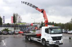 Camión caja abierta Mercedes AXOR 3533 6x2 HMF 3000 Crane Kran