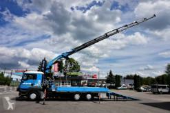 Camión caja abierta MAN ALLRAD Spezialtransporter Seilwinde Montagekran