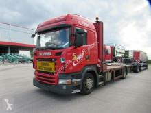 Kamion Scania R420 Pritsche mit absenkbarem Plateau odstraňování poruch použitý