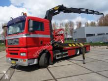 Camión MAN 28-360 PALFINGER PK32000 caja abierta usado