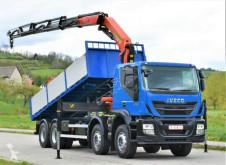 Ciężarówka wywrotka Iveco TRAKKER 360 Kipper 6,40m+PK 23001-EHD+FUNK/ 8x4