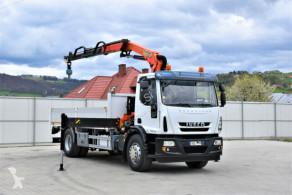 Ciężarówka platforma Iveco Eurocargo 190EL3 Pritsche5,10m +PK13001 -KA+FUNK