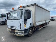 Camión tautliner (lonas correderas) Iveco Eurocargo 75 E 18