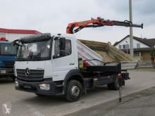 Camion scarrabile Mercedes Atego 1223 K 2-Achs Kipper Kran Palf. PK 8501