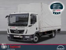 MAN ponyvával felszerelt plató teherautó TGL 8.190 4X2 BL. AHK, Klimaanlage