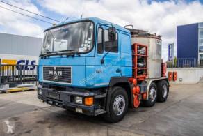 Camion citerne produits chimiques MAN 26.402 BL-LINNHOFF- Asfalt/Asphalt/Bitume + Anhänger E55588