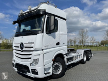 Camion châssis Mercedes ACTROS 2558 6x2 EURO 6 RETARDER HYDRAULICS STEERING AXLE