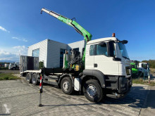 Kamión náves na prepravu strojov MAN TGS 35.360