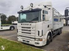 Camion cassone fisso Scania P124 360