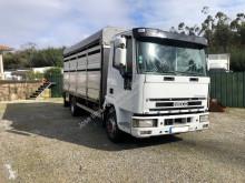 Camion rimorchio per bestiame Iveco Eurocargo 100 E 21 DP tector