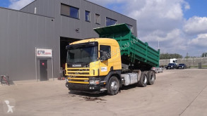 Camion Scania 114 - 380 (BIG AXLE / FULL STEEL SUSPENSION / MANUAL GEARBOX / 10 TIRES / 6X4) benne occasion