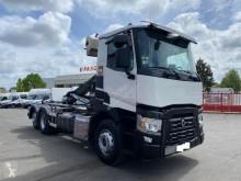 Kamión hákový nosič kontajnerov Renault Gamme C C430