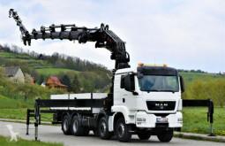 Camion MAN TGS 41.440 + HIAB 800E-6+JIB 170X-4 + FUNK! 8x4 cassone usato