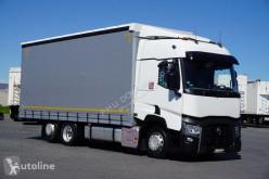 Camion Renault / GAMA T 480 / ACC / EURO 6 / RETARDER / FIRANKA / 18 PALET rideaux coulissants (plsc) occasion