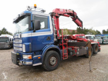 Camion Scania 124/470 6x2 HMF2223K5 plateau ridelles occasion