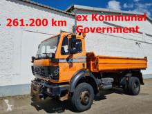 Camión Mercedes SK 1824 AK 4x4 1824 AK 4x4, Winterdienstausstattung volquete volquete trilateral usado