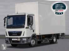 Camion MAN TGL 12.250 4X2 BL, Koffer, LBW, 7,2m, LGS furgone usato