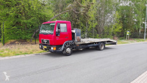 Lastbil biltransport MAN L2000