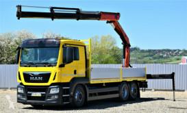 Camion cassone MAN TGA 26.400 Pritsche 6,35m + PK 16502 + FUNK !