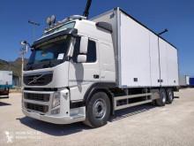 Teherautó Volvo FM 410 használt visszahajtható merev fal furgon