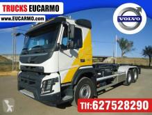 Kamión hákový nosič kontajnerov Volvo FMX 420