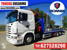 Camion Scania porte engins occasion