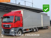 Kamión s prívesom MAN TGX 26.480 plachtový náves ojazdený