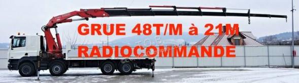 Camion plateau ridelles DAF CF 85.480