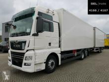 Camion remorque fourgon MAN TGX 26.500/Retarder /LBW /KOMPLETT /Durchladezug