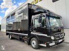 Camion van per trasporto di cavalli Mercedes Atego 1018