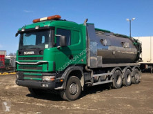 Camion Scania R124GB 8x4 vacuum pump truck citerne occasion