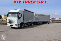 Camion Iveco Stralis STRALIS 500 MOTRICE CENTINATA + RIMORCHIO CENTINA occasion
