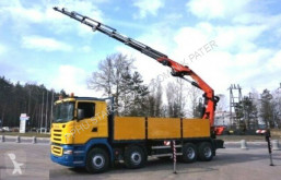 Scania plató teherautó R500 V8 8x4 PALFINGER PK 44002 G EURO 4 WINDE !!