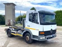 Camion Mercedes Atego MERCEDES 15.30 SCARRABILE BALESTRATO ANTERIO polybenne occasion