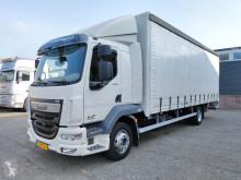 DAF függönyponyvaroló teherautó LF 220