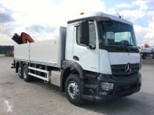 Teherautó Mercedes 2546 6x2 Palfinger PK 19001 Baustoff | Vermietun új plató