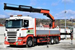 Camion Scania R420 Pritsche 6,10m * PK 34002 - SH + FUNK ! plateau occasion