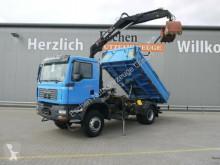 Camion MAN TGM 18.280 4x4 BB, erst 43TKM, HIAB 111 BS-3 DUO benne occasion