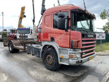 Lastbil biltransport Scania P114