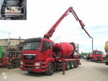 MAN concrete pump truck truck TG-S 35.440 8x4-4 BL Pumi Deutsch, 24m, 1637h, top