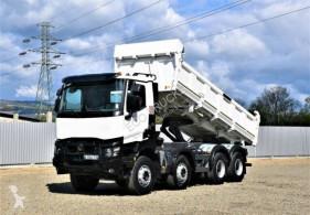 Renault two-way side tipper truck Kerax 440