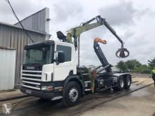 Scania hook lift truck G 114G380